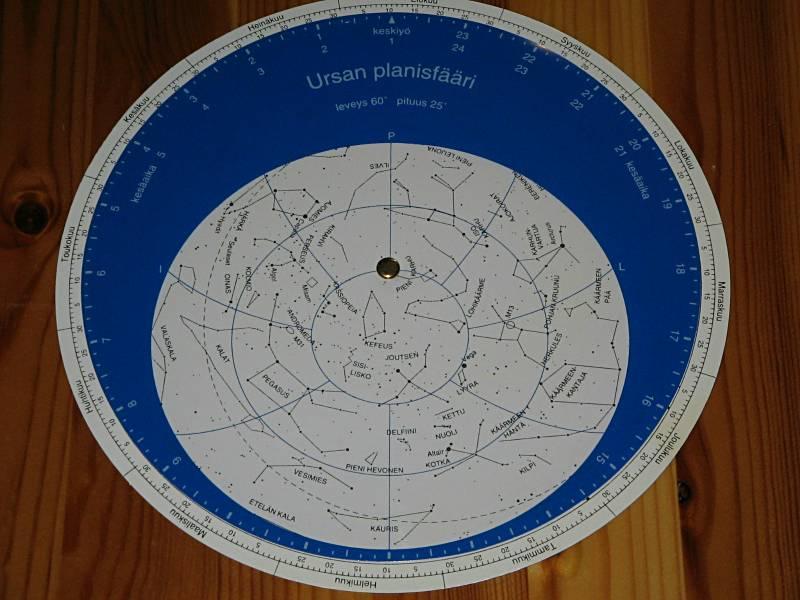 ilmainen tähtikartta roodos